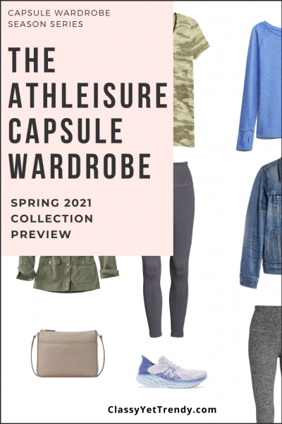 Athleisure Capsule Wardrobe Spring 2021 Sneak Peek Pin2