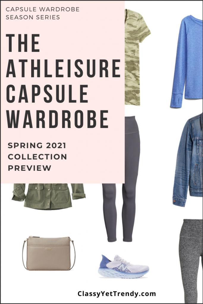 Athleisure Capsule Wardrobe Spring 2021 Sneak Peek Pin2