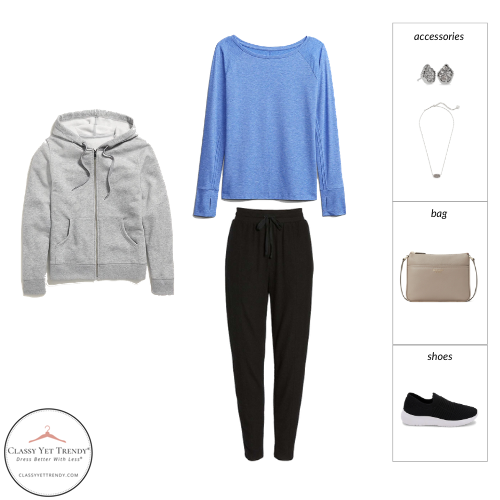 Athleisure Spring 2021 Capsule Wardrobe - outfit 12