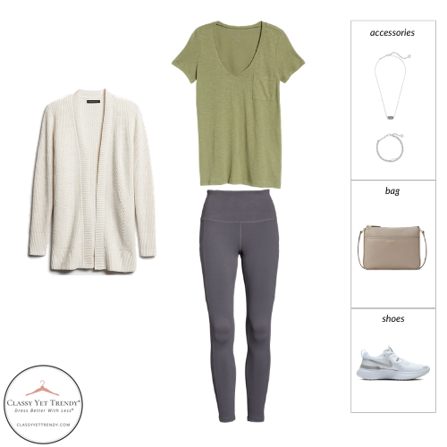 Athleisure Spring 2021 Capsule Wardrobe - outfit 16
