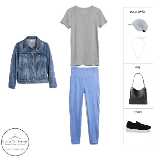 Athleisure Spring 2021 Capsule Wardrobe - outfit 68