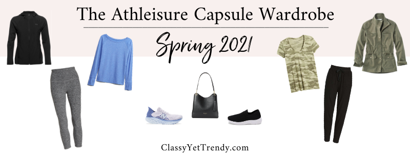 BANNER 800X300 - The Athleisure Capsule Wardrobe - Spring 2021