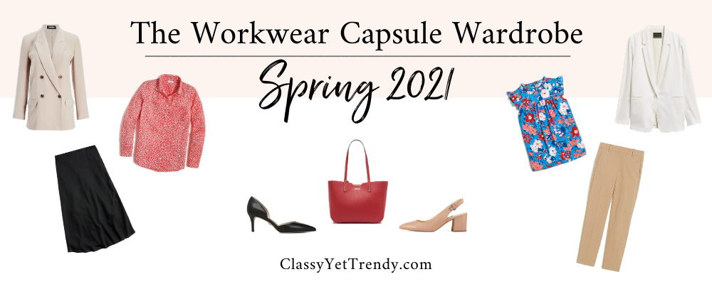 BANNER 800X300 - The Workwear Capsule Wardrobe - Spring 2021