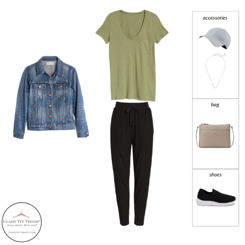 French Minimalist Capsule Wardrobe Spring 2021 - outfit 22
