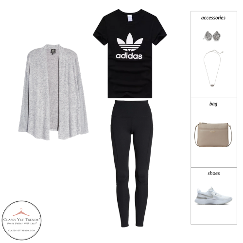 French Minimalist Capsule Wardrobe Spring 2021 - outfit 34