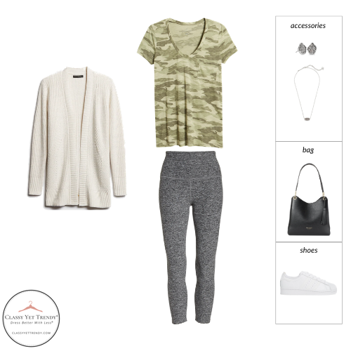 French Minimalist Capsule Wardrobe Spring 2021 - outfit 45
