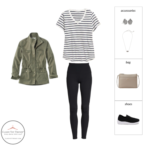 French Minimalist Capsule Wardrobe Spring 2021 - outfit 81