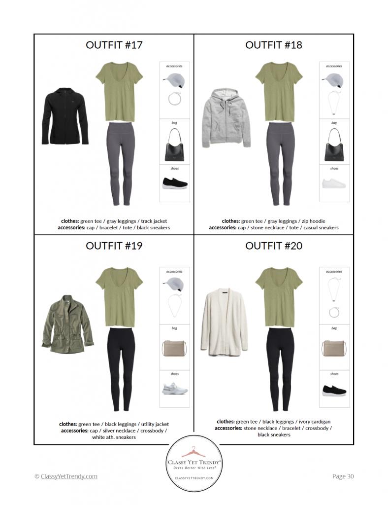 French Minimalist Capsule Wardrobe Spring 2021 - pg 30