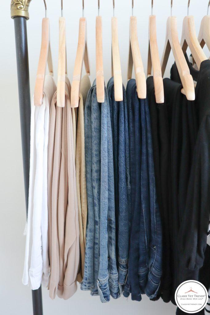 My French Minimalist Spring 2021 Capsule Wardrobe - bottoms