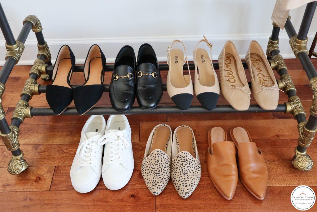 My French Minimalist Spring 2021 Capsule Wardrobe - shoes