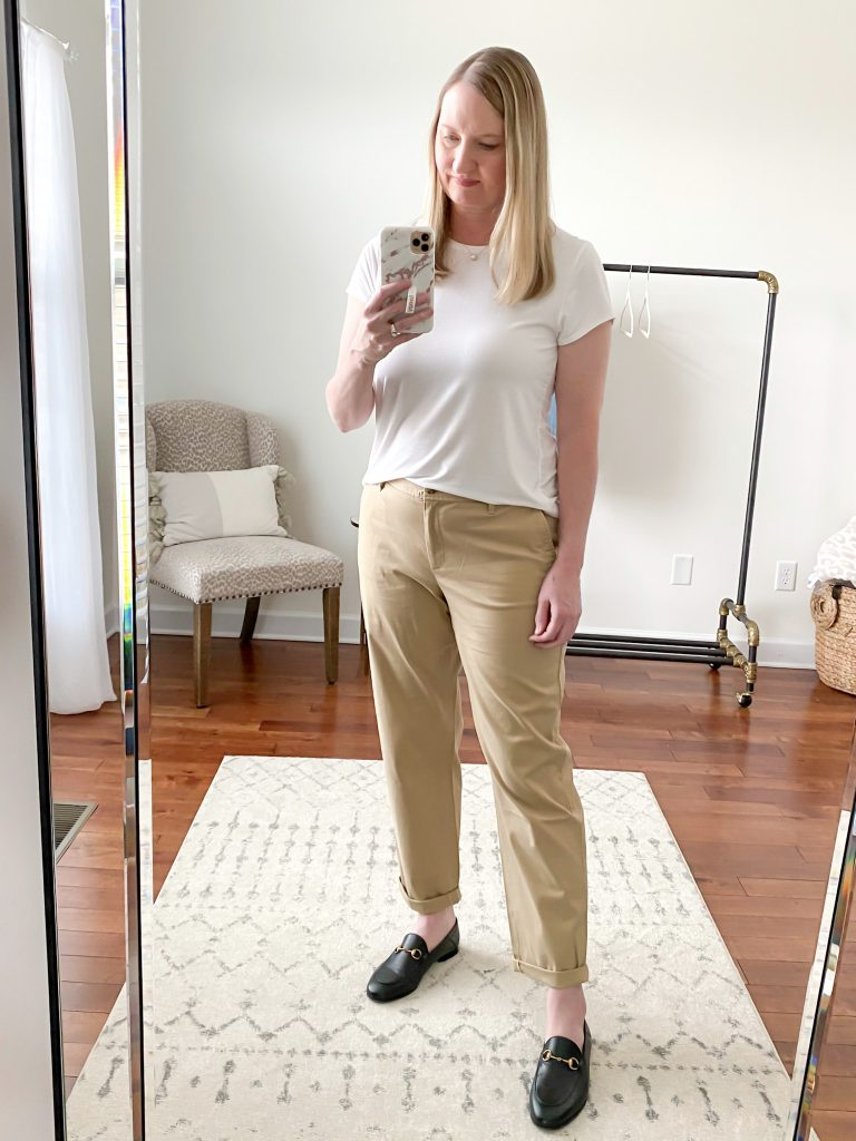Talbots Try-On - Chinos