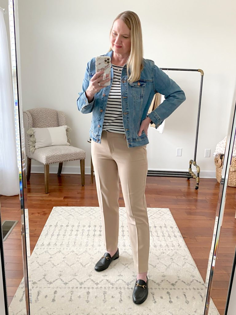 Talbots Try-On - Hampshire Pants Regular outfit