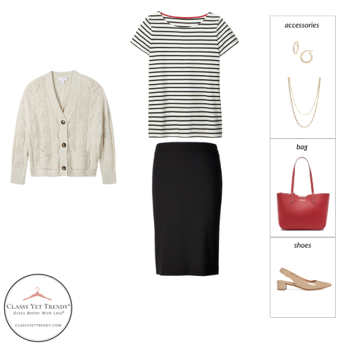 Workwear Spring 2021 Capsule Wardrobe - outfit 18