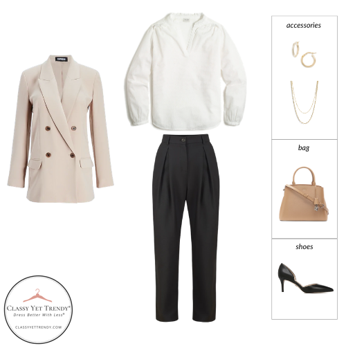Workwear Spring 2021 Capsule Wardrobe - outfit 2