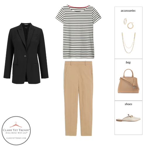 Workwear Spring 2021 Capsule Wardrobe - outfit 24