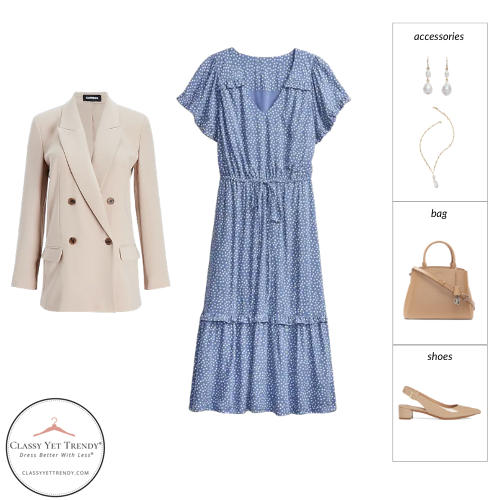 Workwear Spring 2021 Capsule Wardrobe - outfit 28