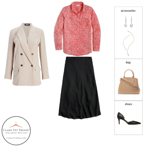 Workwear Spring 2021 Capsule Wardrobe - outfit 35