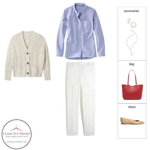 Workwear Spring 2021 Capsule Wardrobe - outfit 61