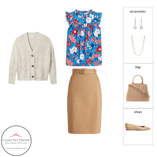 Workwear Spring 2021 Capsule Wardrobe - outfit 82