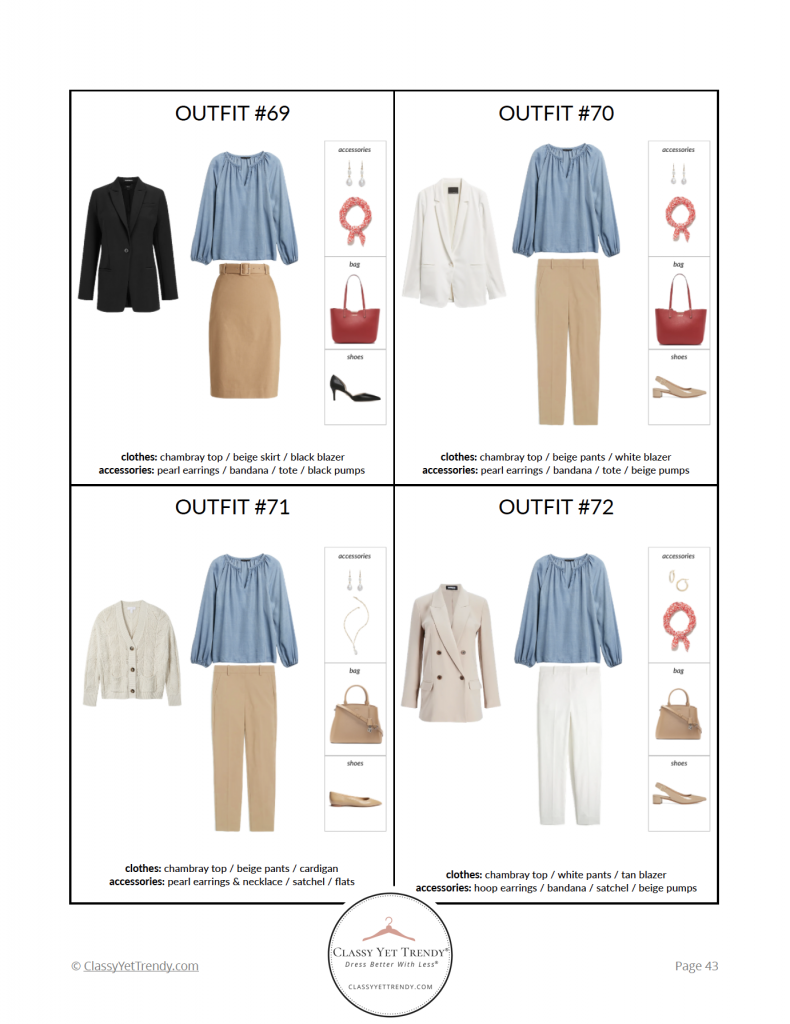 Workwear Spring 2021 Capsule Wardrobe - pg 43