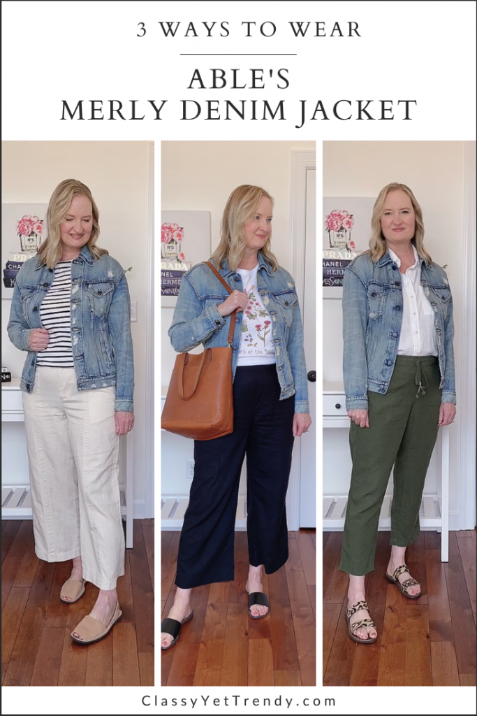 3 Ways To Wear FashionABLE ABLE Merly Denim Jacket