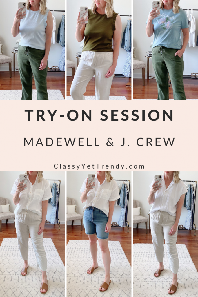 Try-On Session Review April 2021 Madewell J Crew