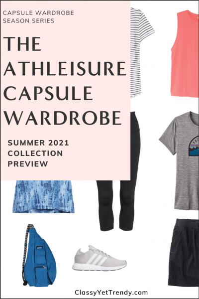 Athleisure Capsule Wardrobe Summer 2021 Sneak Peek Pin2