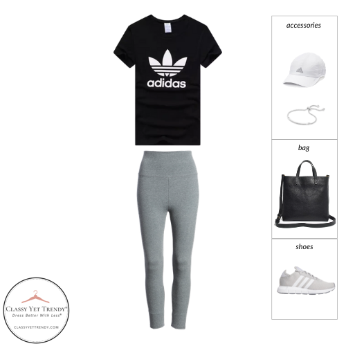 Athleisure Capsule Wardrobe Summer 2021 - outfit 18