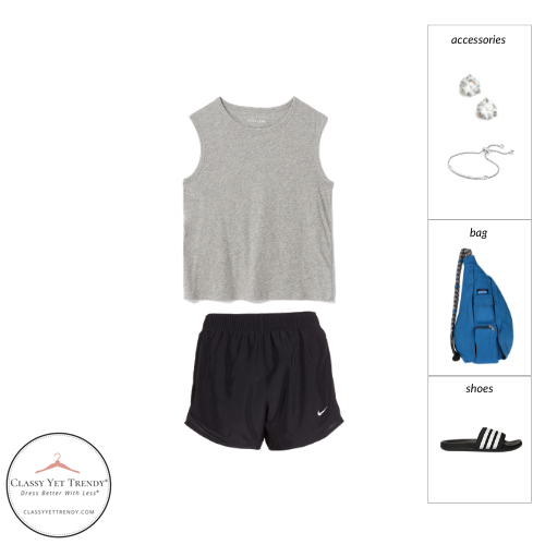 Athleisure Capsule Wardrobe Summer 2021 - outfit 26
