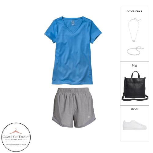 Athleisure Capsule Wardrobe Summer 2021 - outfit 33