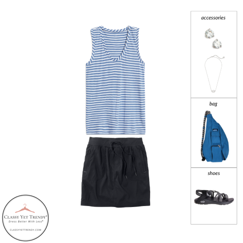 Athleisure Capsule Wardrobe Summer 2021 - outfit 4
