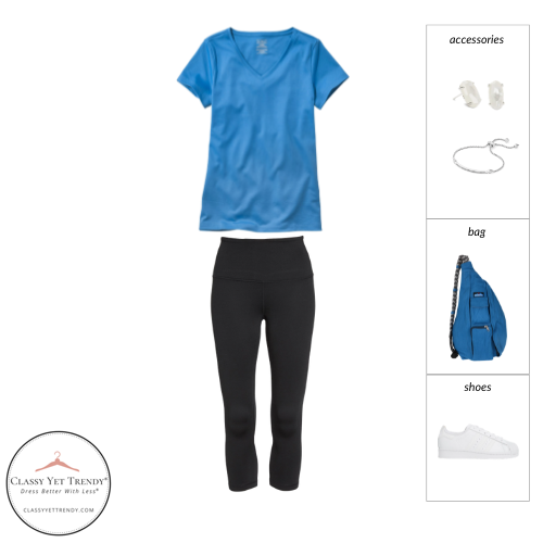 Athleisure Capsule Wardrobe Summer 2021 - outfit 42