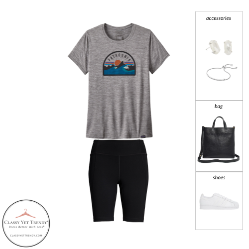 Athleisure Capsule Wardrobe Summer 2021 - outfit 48