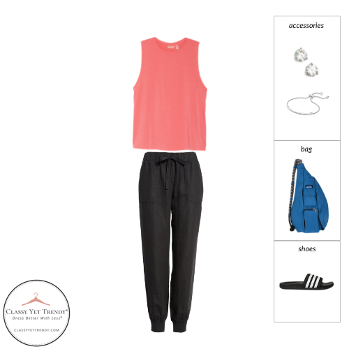 Athleisure Capsule Wardrobe Summer 2021 - outfit 62