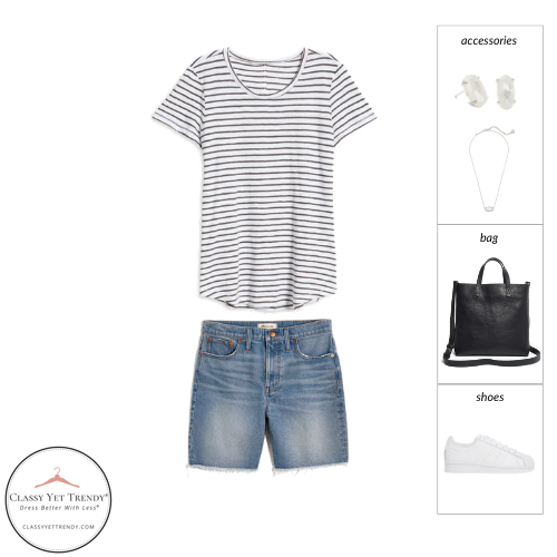 Athleisure Capsule Wardrobe Summer 2021 - outfit 66