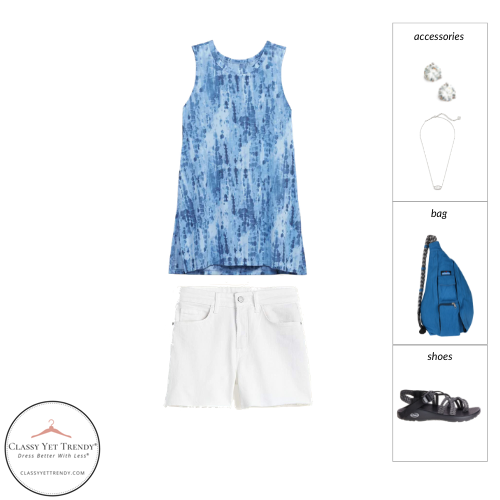Athleisure Capsule Wardrobe Summer 2021 - outfit 75