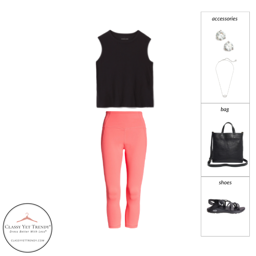 Athleisure Capsule Wardrobe Summer 2021 - outfit 91