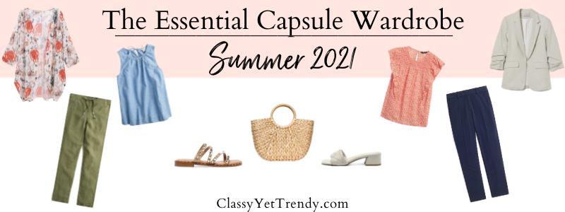 BANNER 800X300 - The Essential Capsule Wardrobe - Summer 2021
