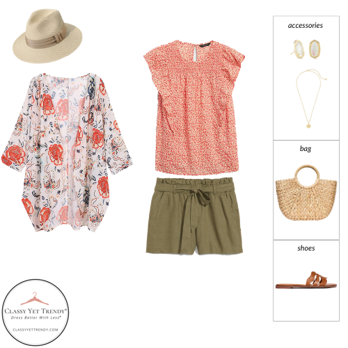 Essential Capsule Wardrobe Summer 2021 - outfit 1