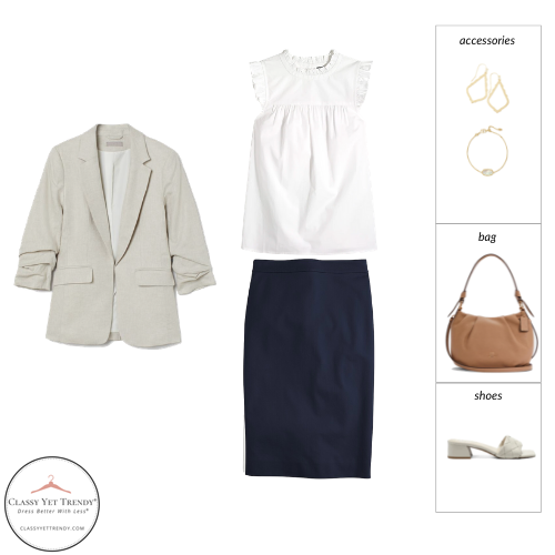 Essential Capsule Wardrobe Summer 2021 - outfit 24