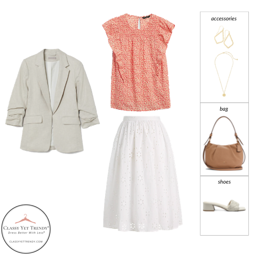 Essential Capsule Wardrobe Summer 2021 - outfit 3