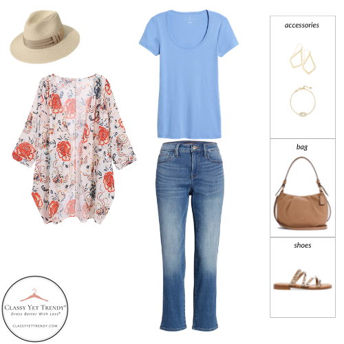 Essential Capsule Wardrobe Summer 2021 - outfit 39