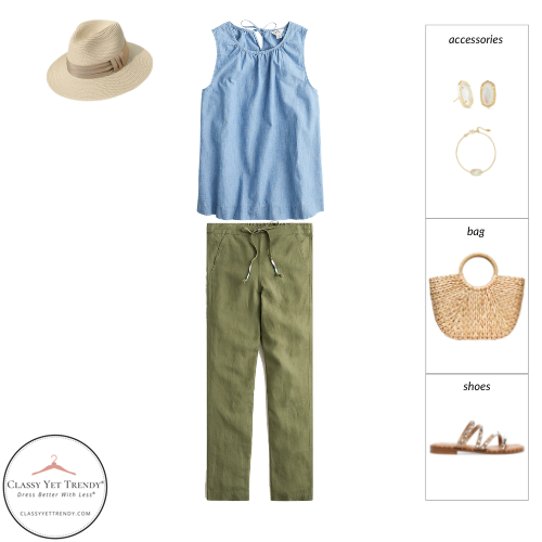 Essential Capsule Wardrobe Summer 2021 - outfit 69