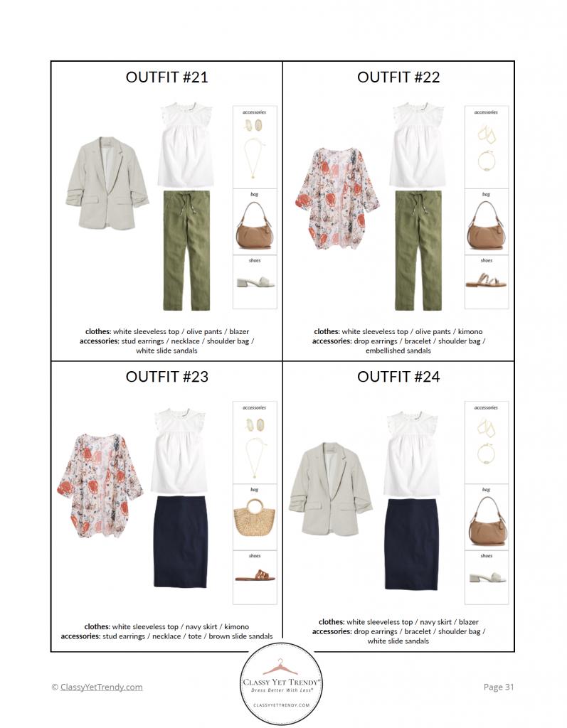 Essential Capsule Wardrobe Summer 2021 - pg 31