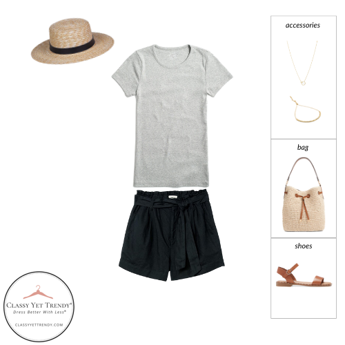 French Minimalist Capsule Wardrobe Summer 2021 - outfit 40