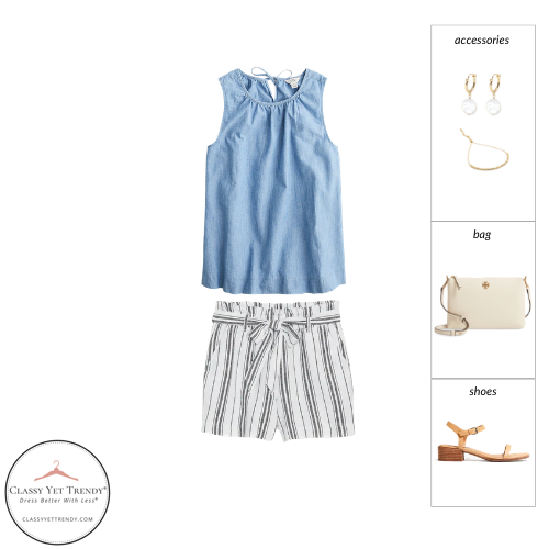 French Minimalist Capsule Wardrobe Summer 2021 - outfit 56