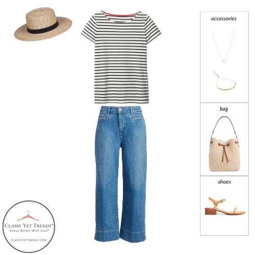French Minimalist Capsule Wardrobe Summer 2021 - outfit 77