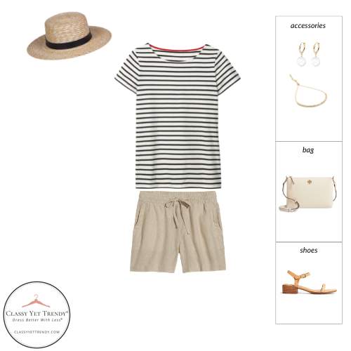 French Minimalist Capsule Wardrobe Summer 2021 - outfit 87