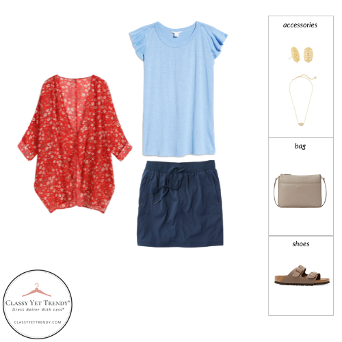 Stay At Home Mom Capsule Wardrobe Summer 2021 - outfit 4