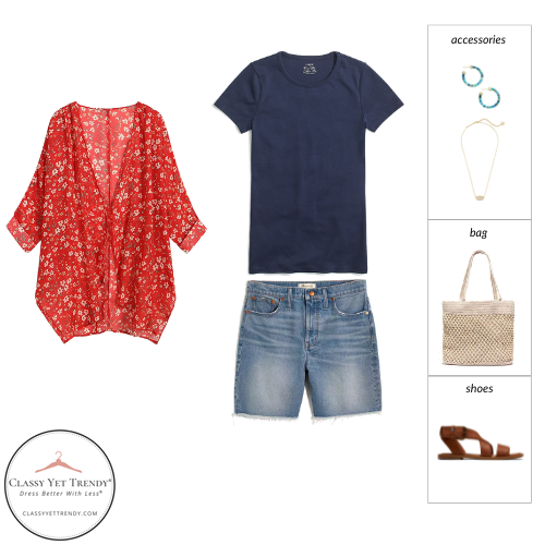 Stay At Home Mom Capsule Wardrobe Summer 2021 - outfit 72